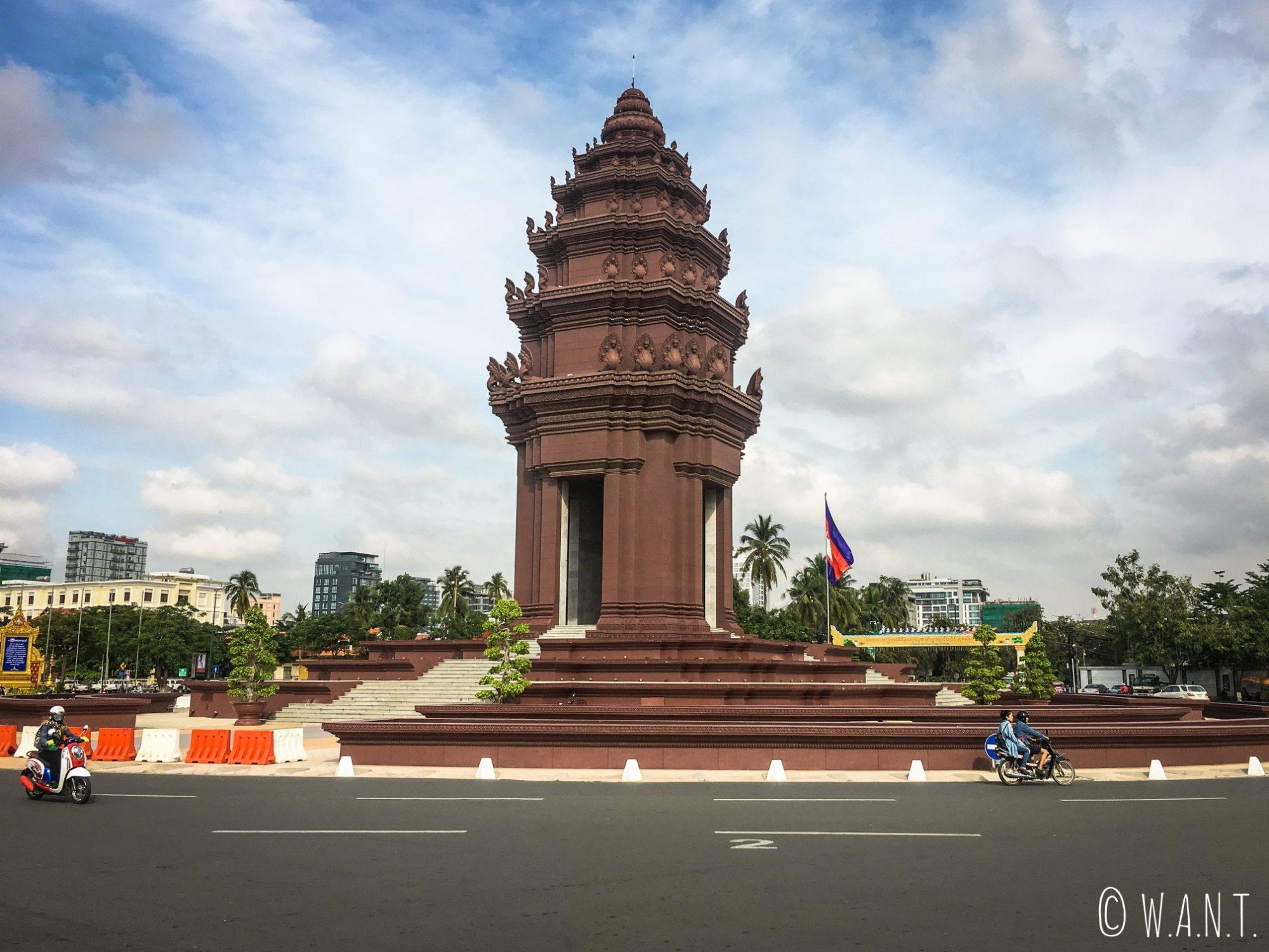 Monument de l'Indépendance à Phnom Penh