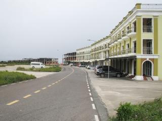 Nouvelles constructions de Bokor Hill Station, dans le Parc national de Bokor