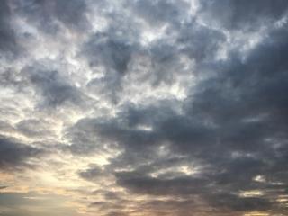 Nuages dans le ciel de Sihanoukville