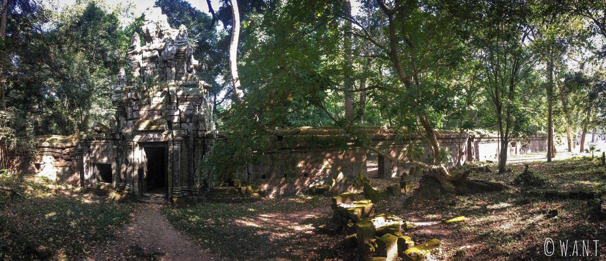 Porte du Palais Royal dans l'enceinte d'Angkor Thom
