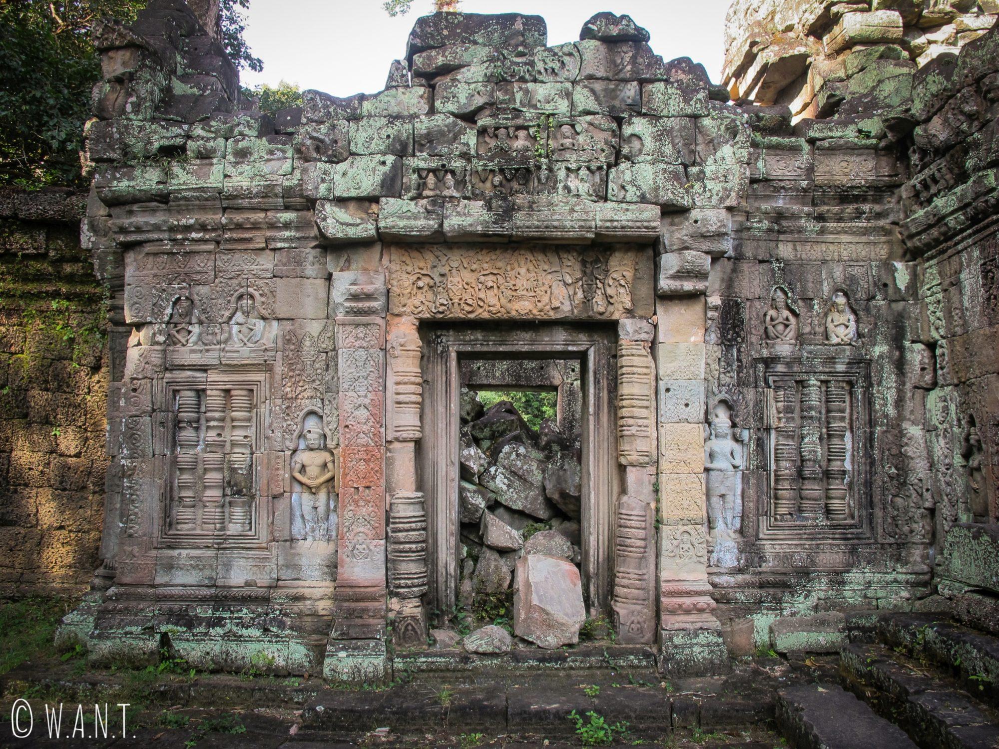 Porte du temple Preah Khan à Angkor