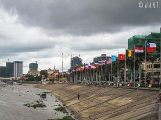 Quai Sisowath de Phnom Penh