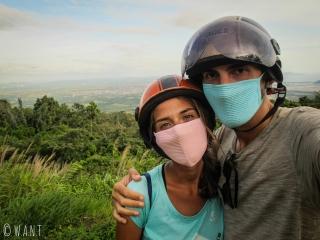 Selfie au parc national de Bokor près de Kampot