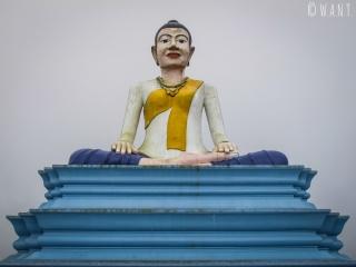 Statue de Bouddha au Parc national de Bokor