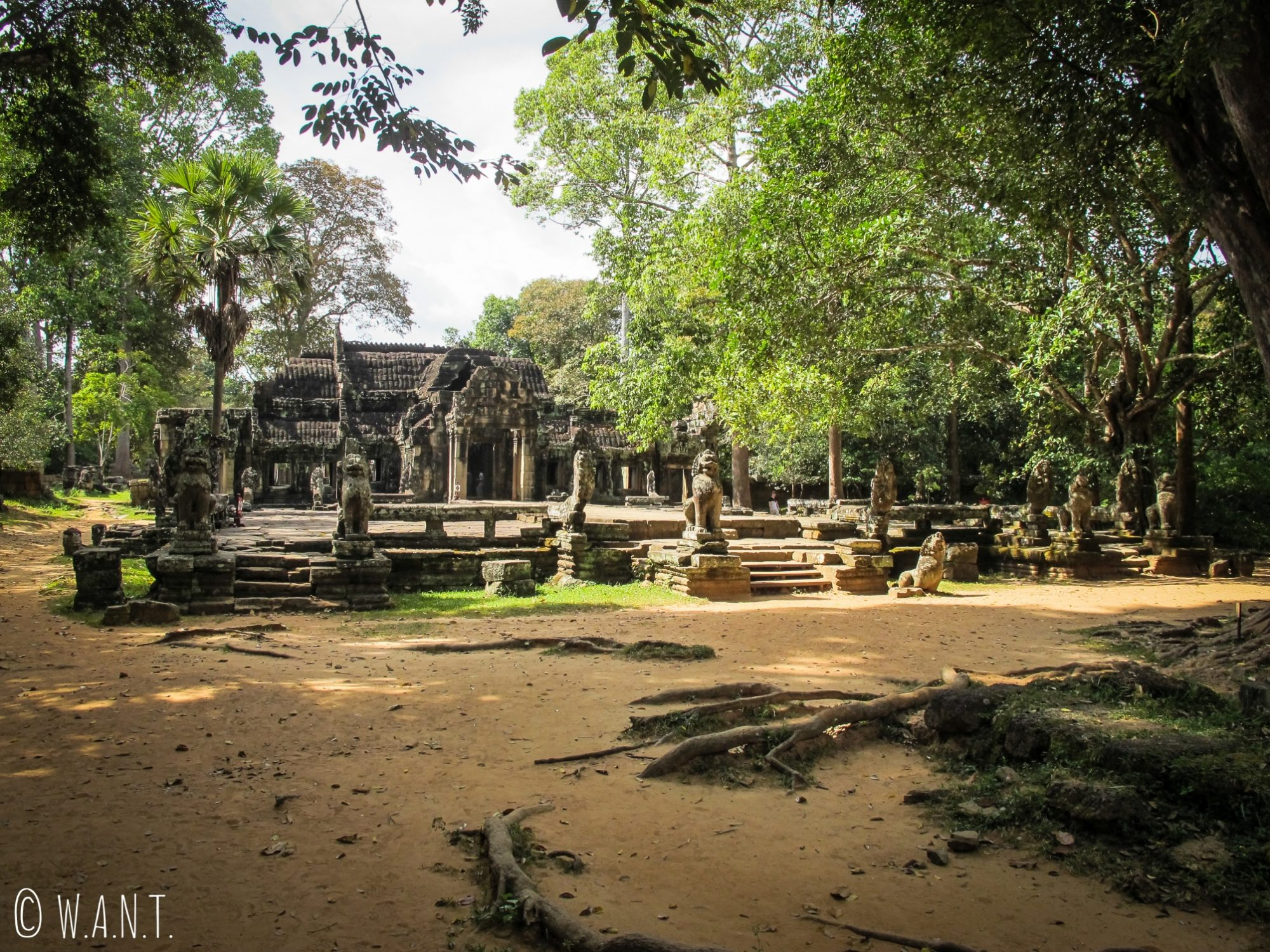 Temple Banteay Kdei à Angkor