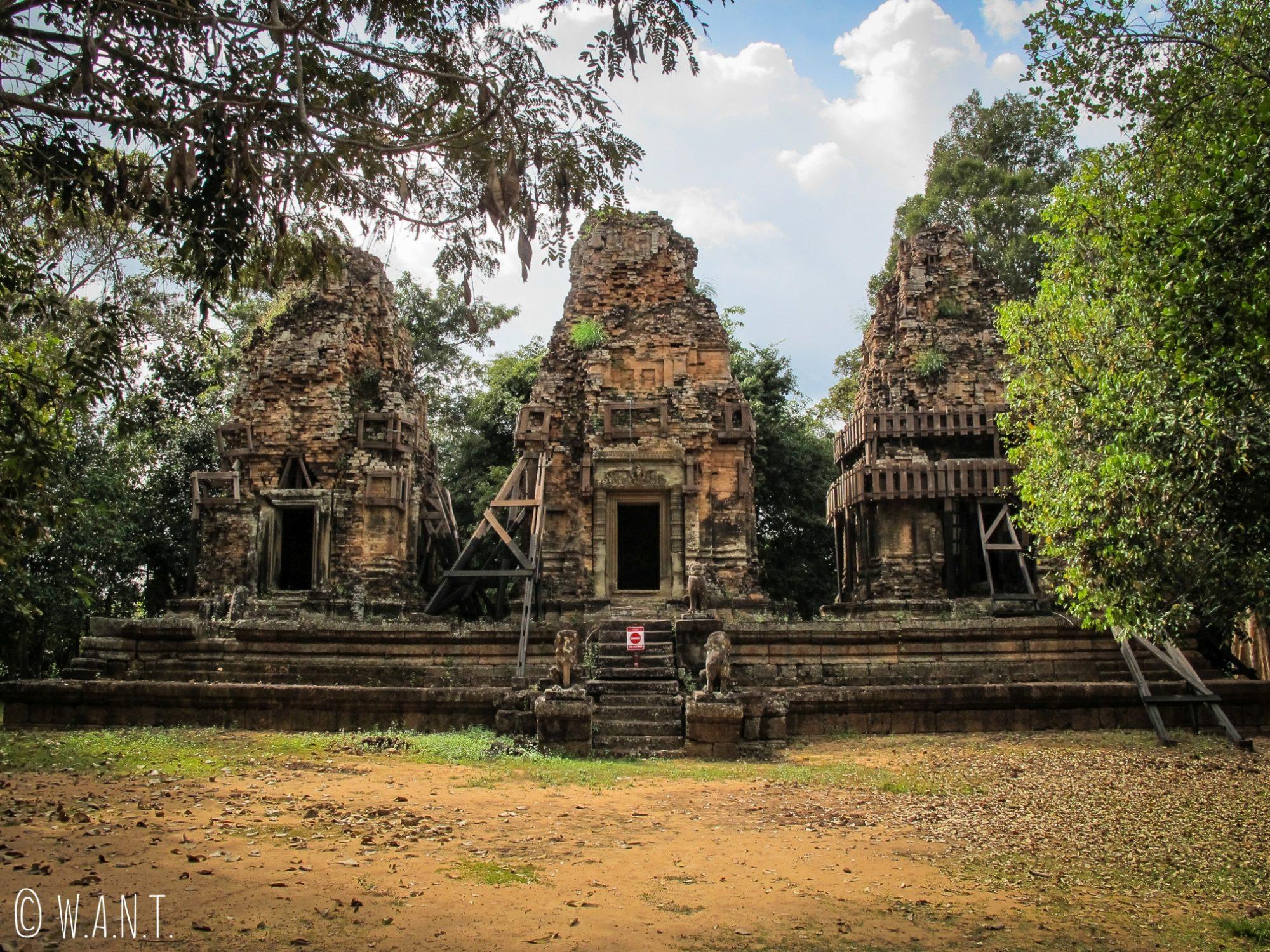 Temple Bat Chum sur le site archéologique d'Angkor