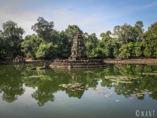 Temple Neak Pean sur le site archéologique d'Angkor