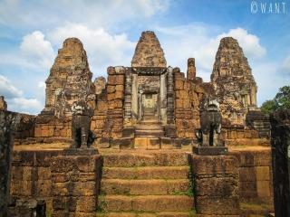 Temple temple East Mebon à Angkor