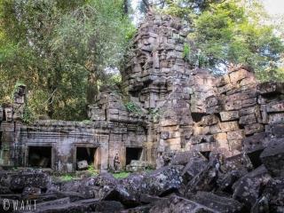 Tour en ruines du temple Preah Khan à Angkor