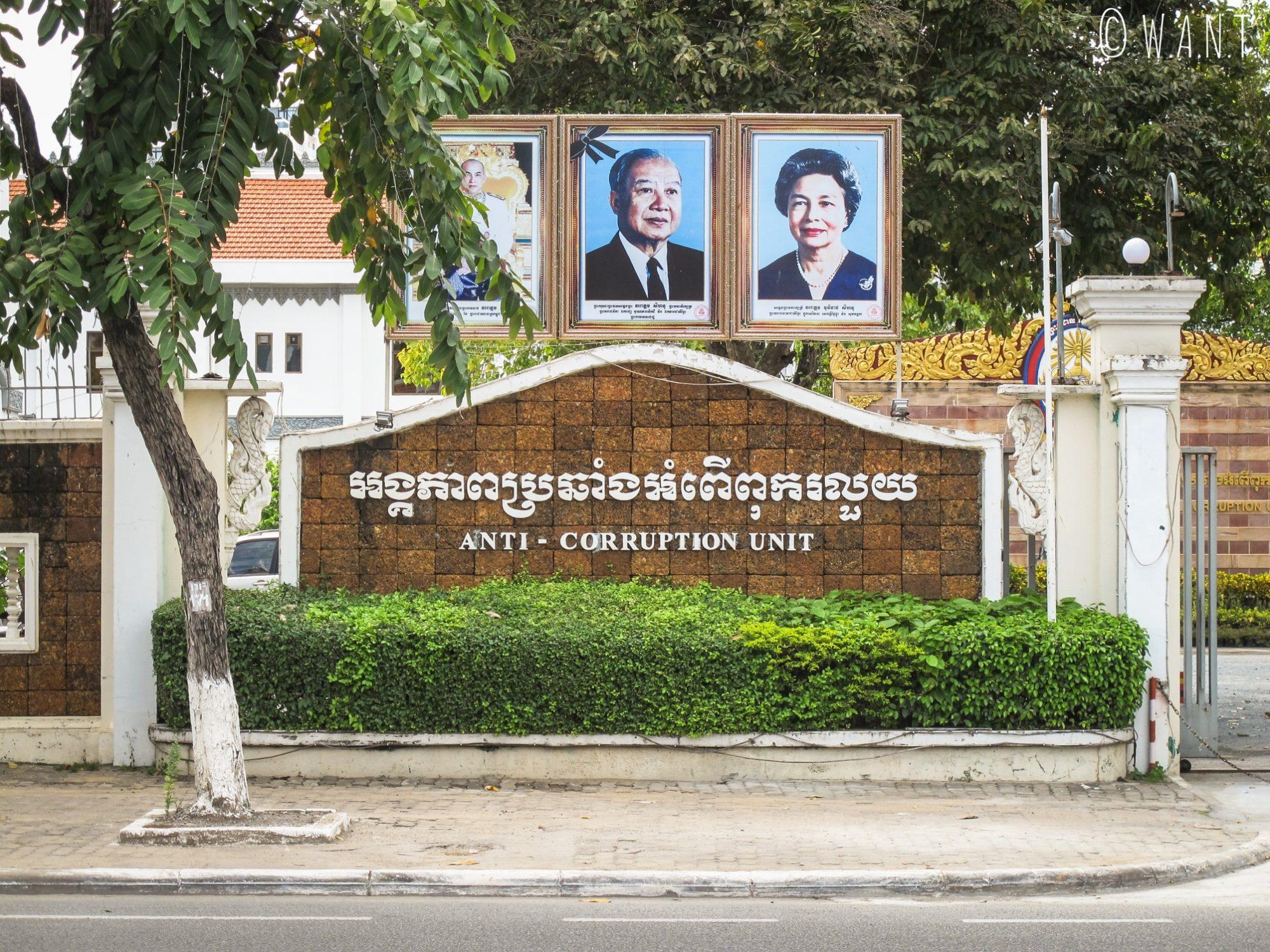 Unité anti-corruption à Phnom Penh