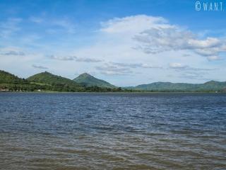 Vue sur le Secret Lake aux alentours de Kampot