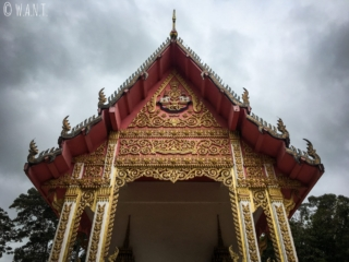 Fronton du Wat Samret de Koh Samui