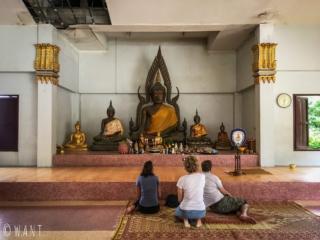 Intérieur du monastère du Wat Sila Ngu sur l'île de Koh Samui