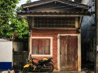 Maison en bois du village musulman de Koh Samui