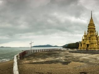 Panorama à la pagode Laem Sor de Koh Samui