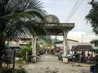 Porte d'accès au village musulman de Koh Samui