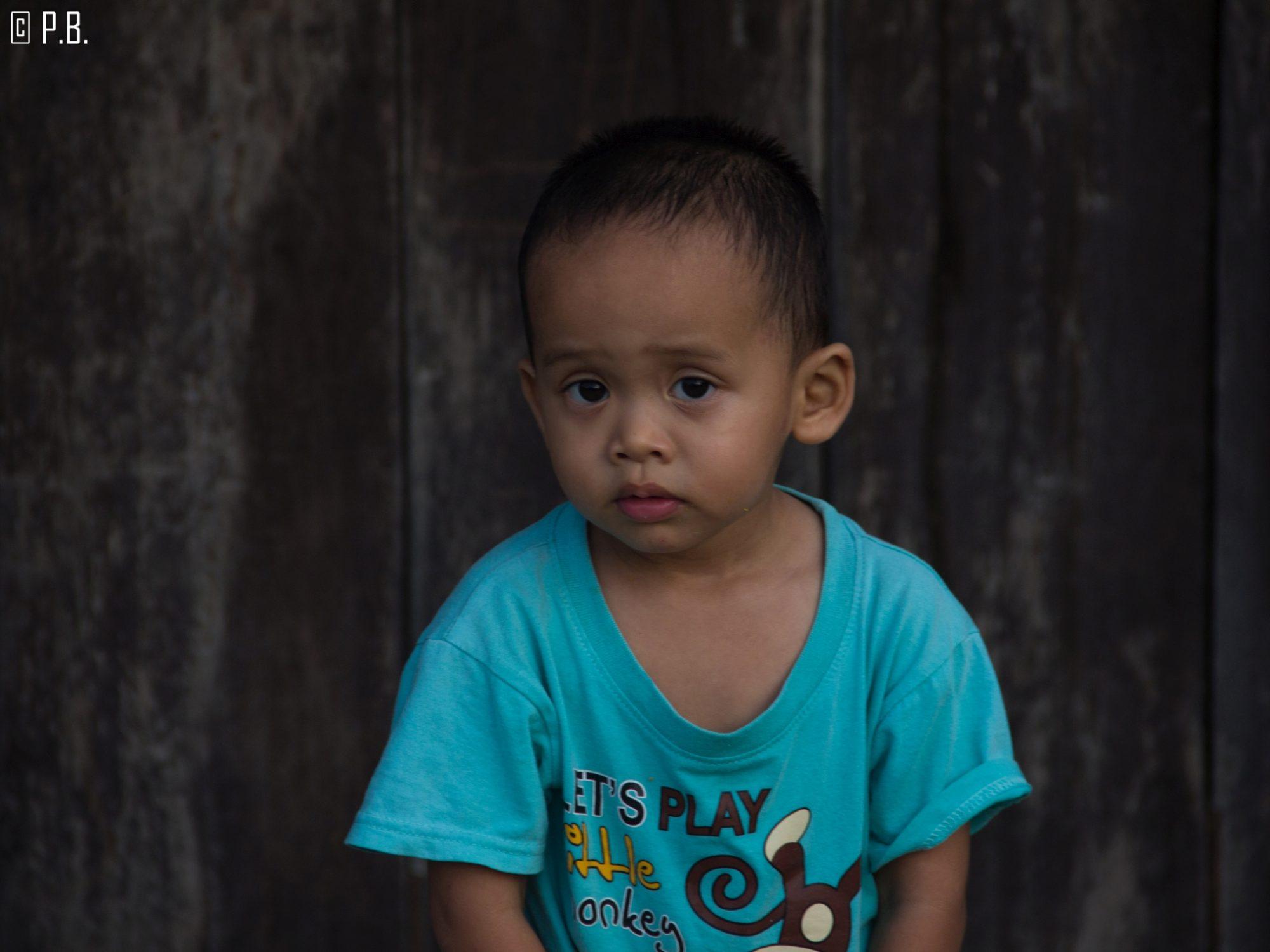 Portrait d'enfant au village musulman de Koh Samui