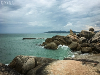 Rocher Hinta Hinyai sur l'île de Koh Samui