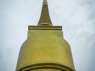 Stupa du Khao Hua Jook Chedi sur l'île de Koh Samui