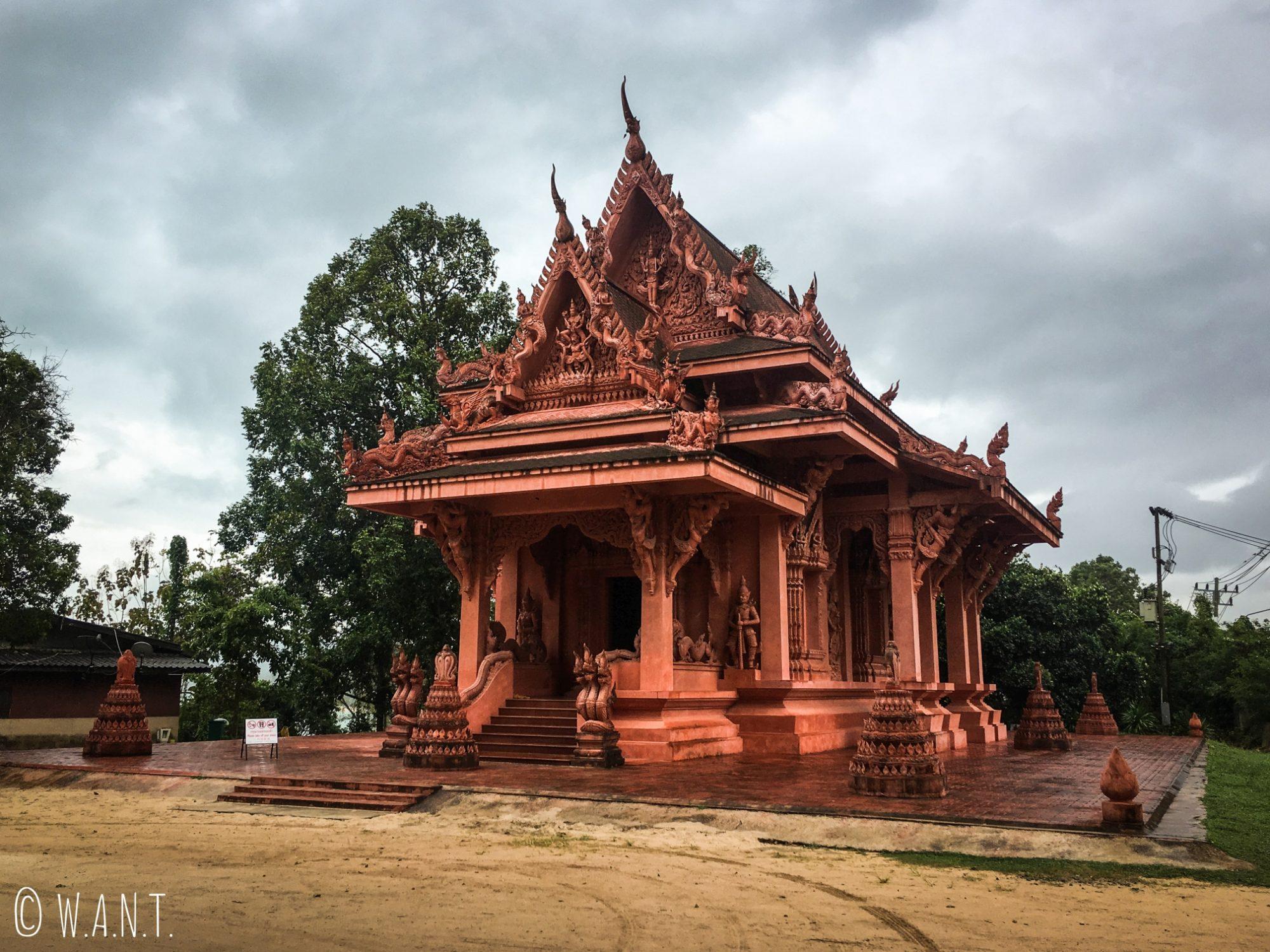 Wat Sila Ngu sur l'île de Koh Samui