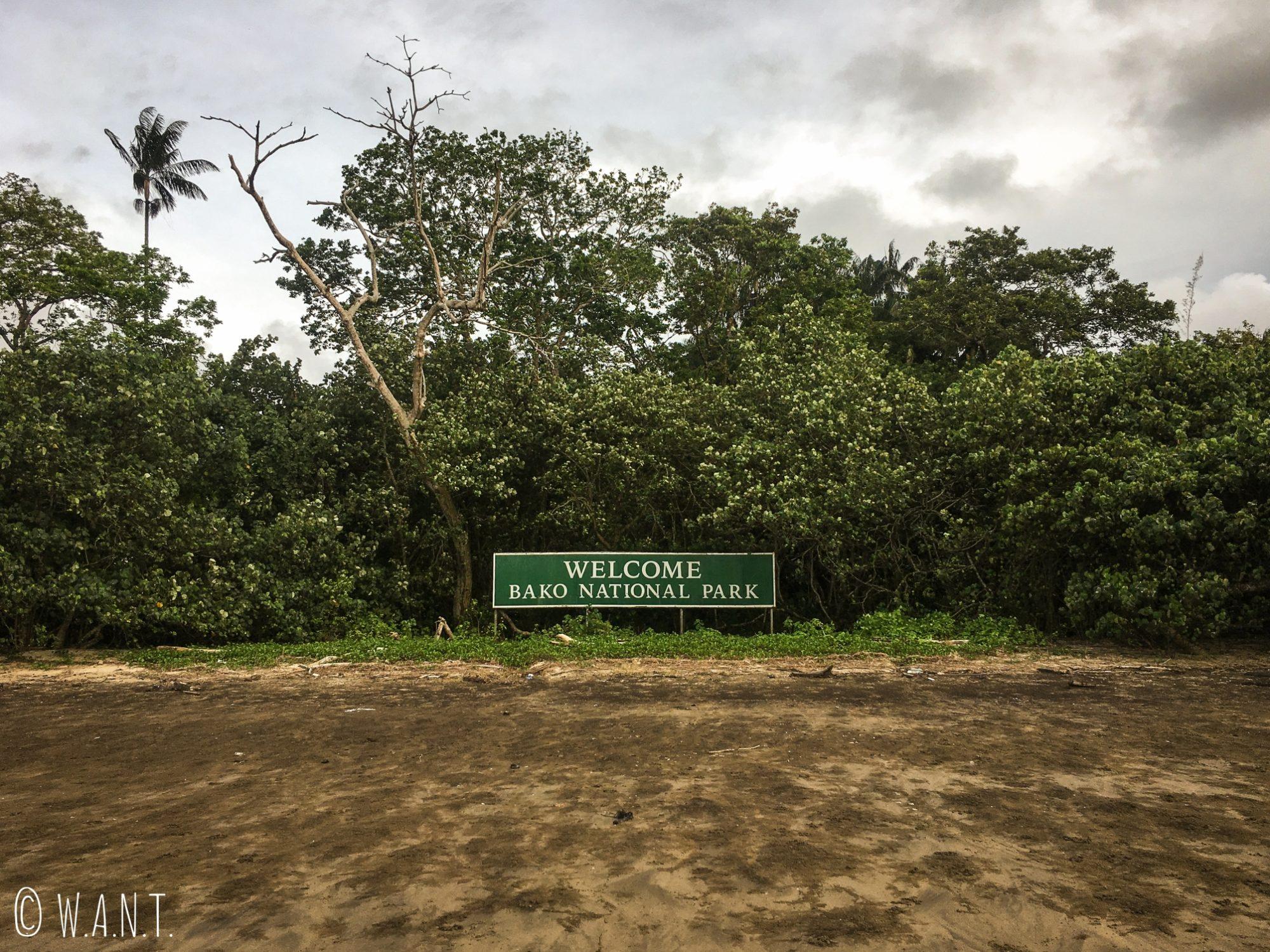 Arrivée au Bako National Park près de Kuching