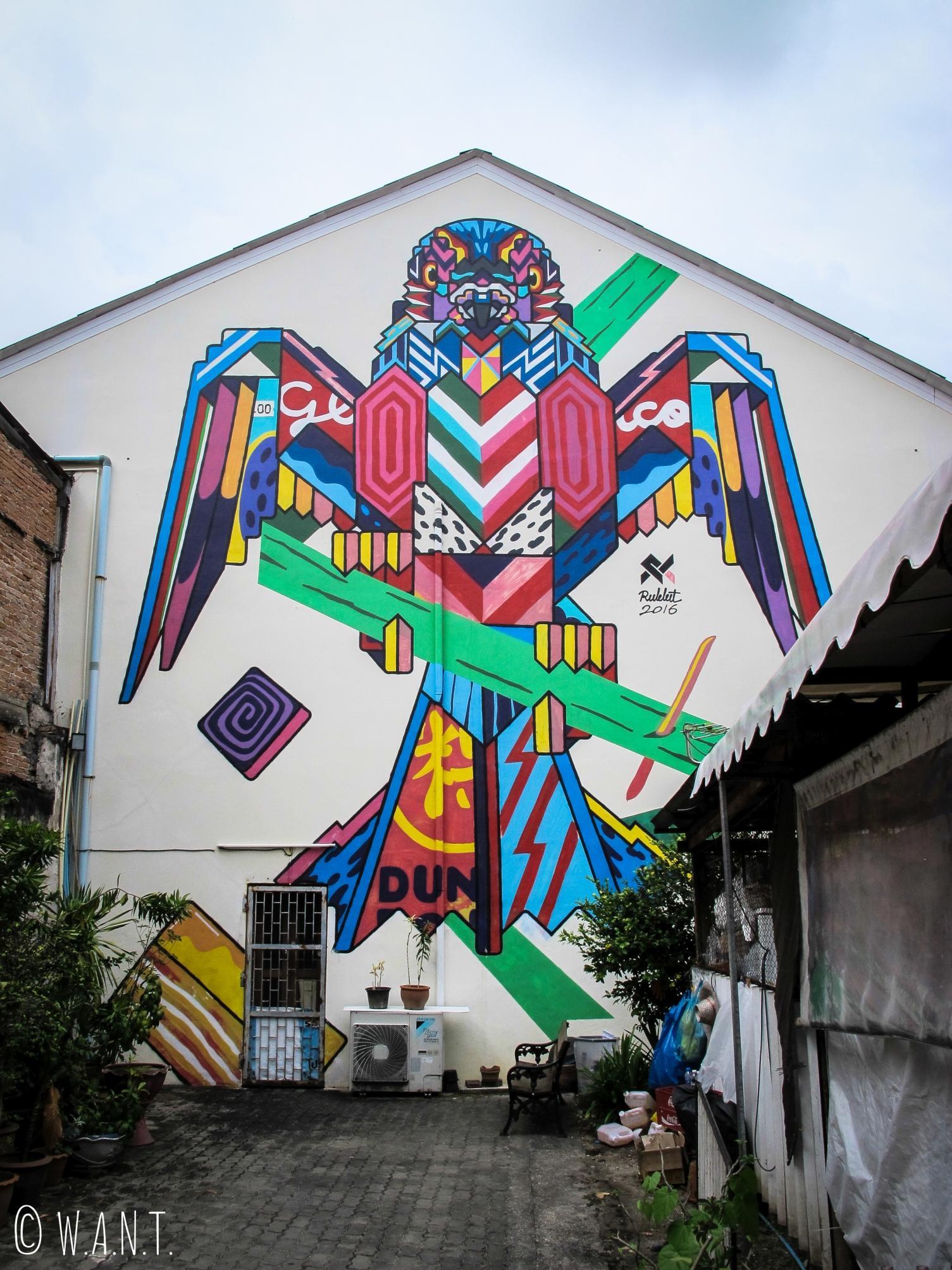 Art de rue dans le Old Phuket