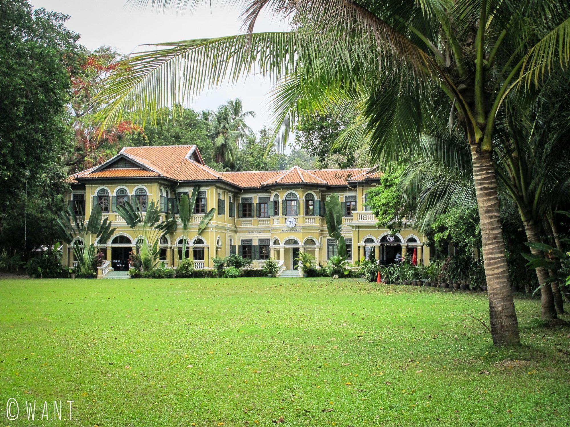 Bâtisse dans le vieux Phuket