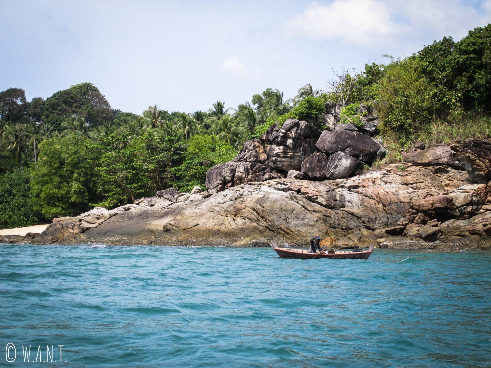 Bateau de pêcheurs à Phuket