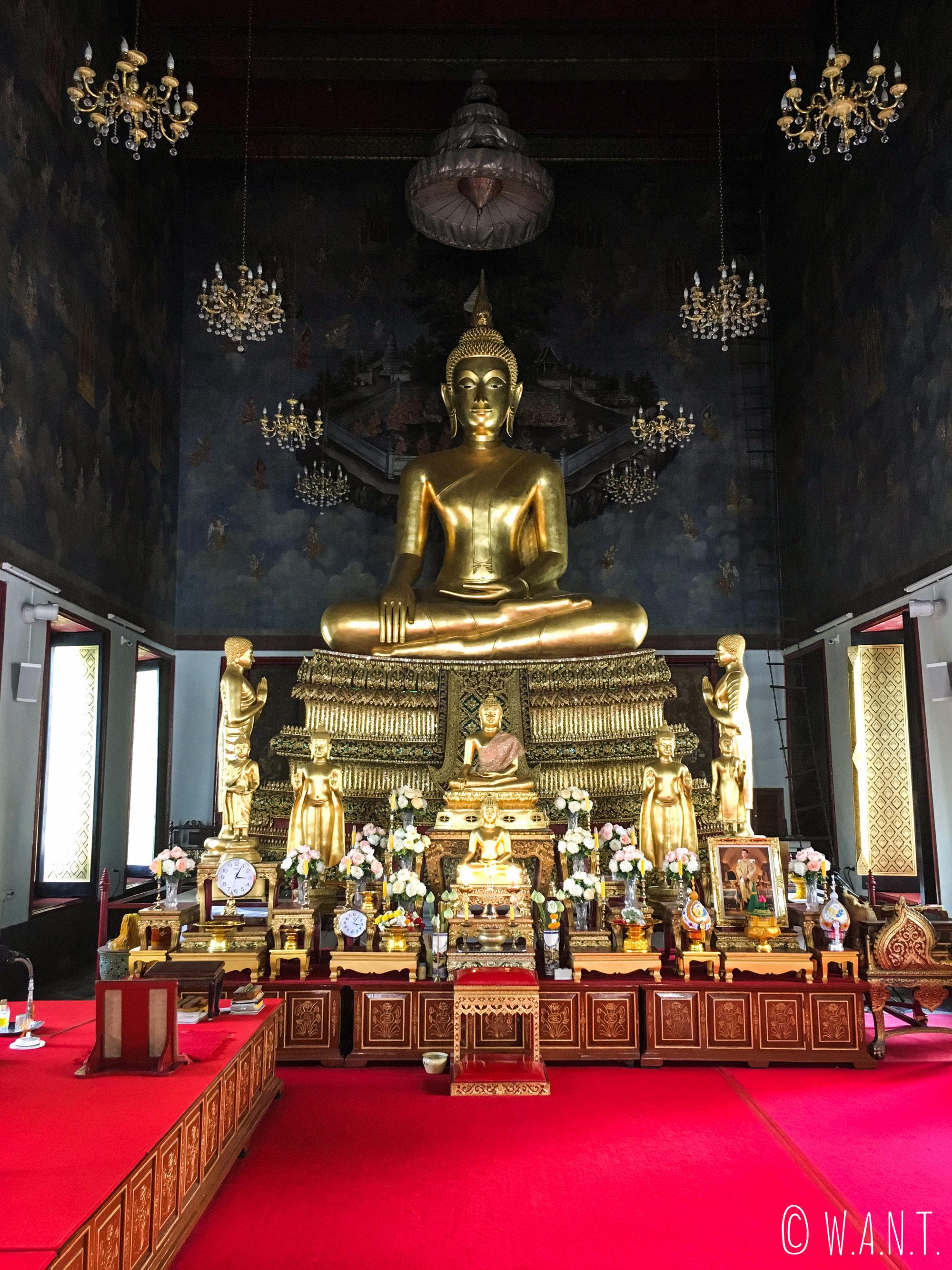 Bouddha du Wat Ratchanatdaram de Bangkok