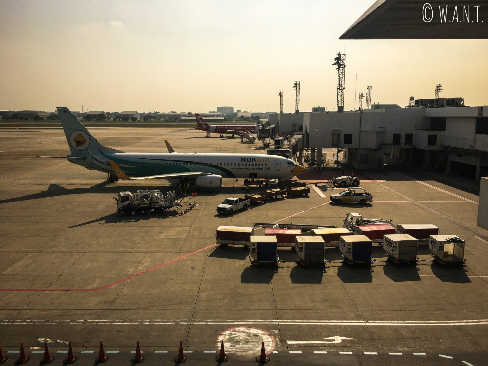 Départ pour Phuket depuis l'aéroport Don Muang de Bangkok