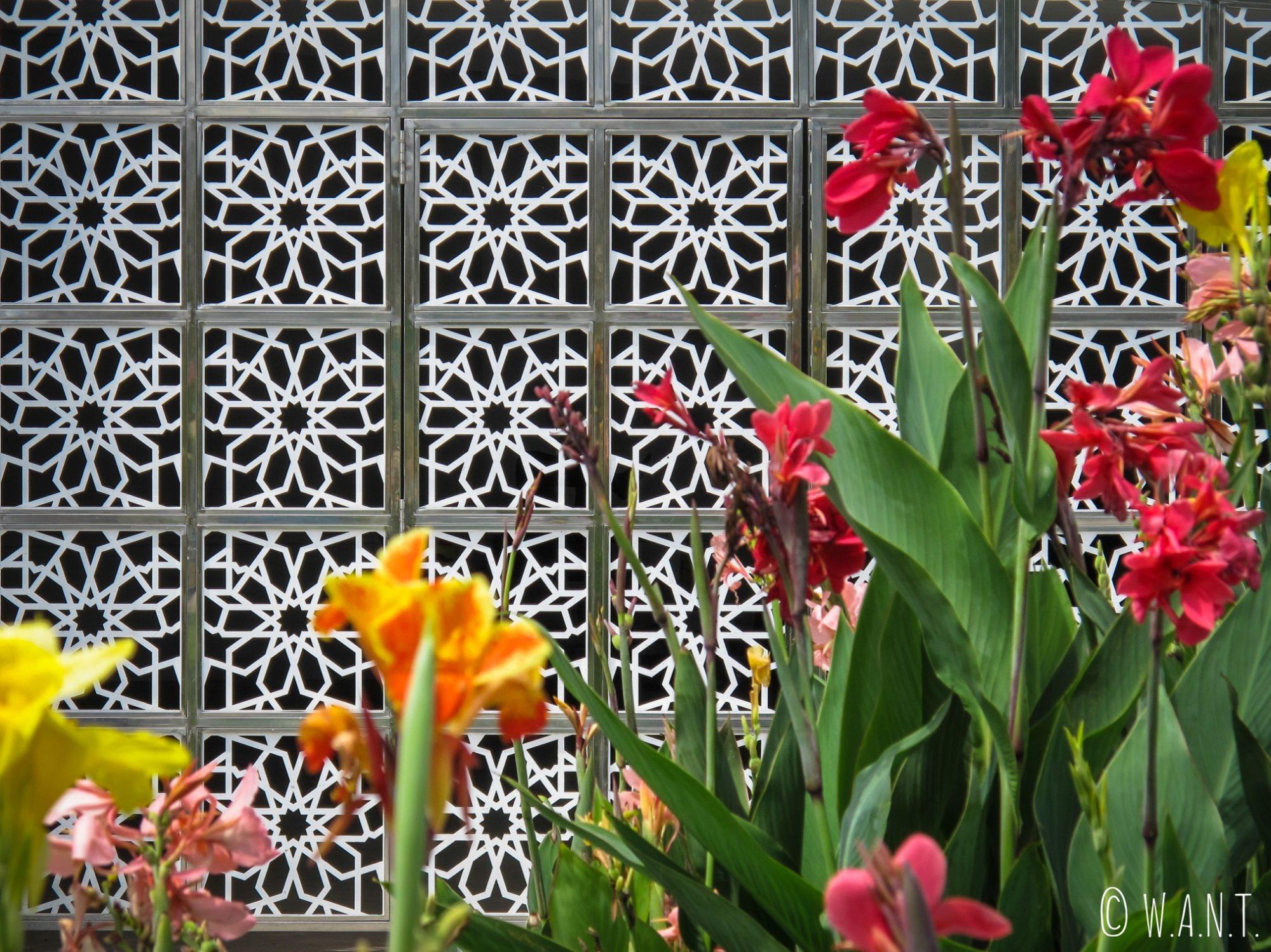 Fleurs du parc Taman Mahkota Jubli Emas de Bandar Seri Begawan