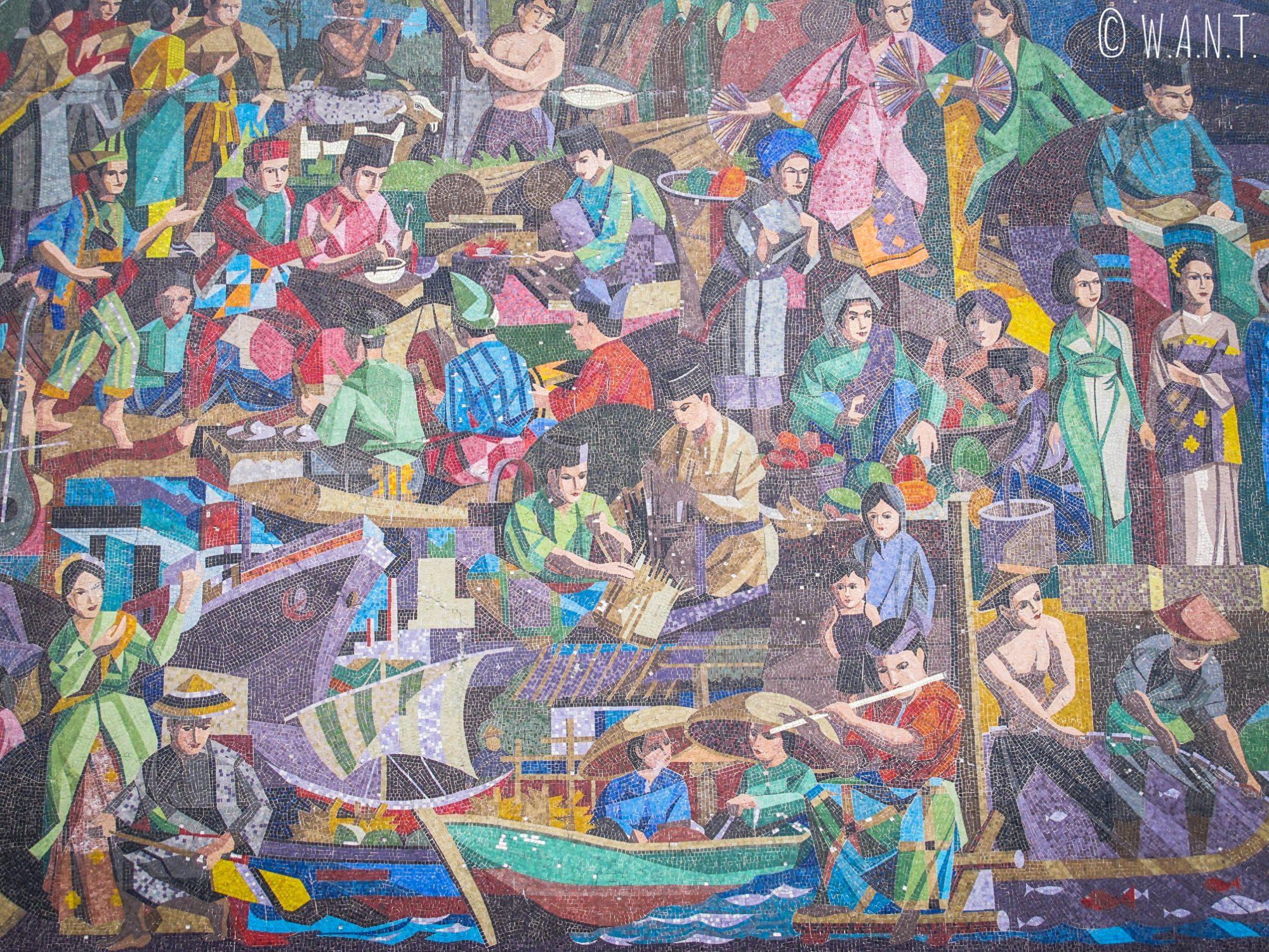 Fresque dans les rues de Bandar Seri Begawan #3