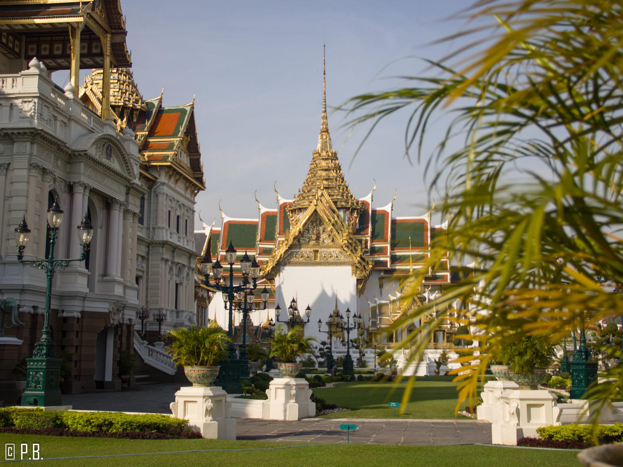 Jardin du Palais Royal de Bangkok