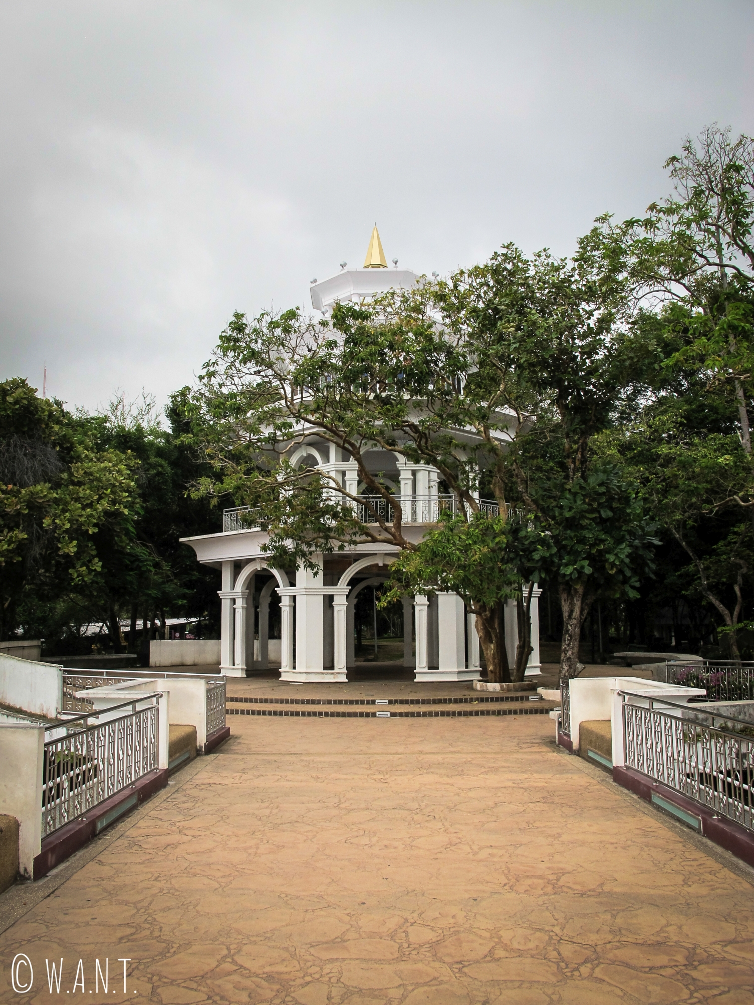 Kiosque au point de vue Khao Rang Hill de Phuket