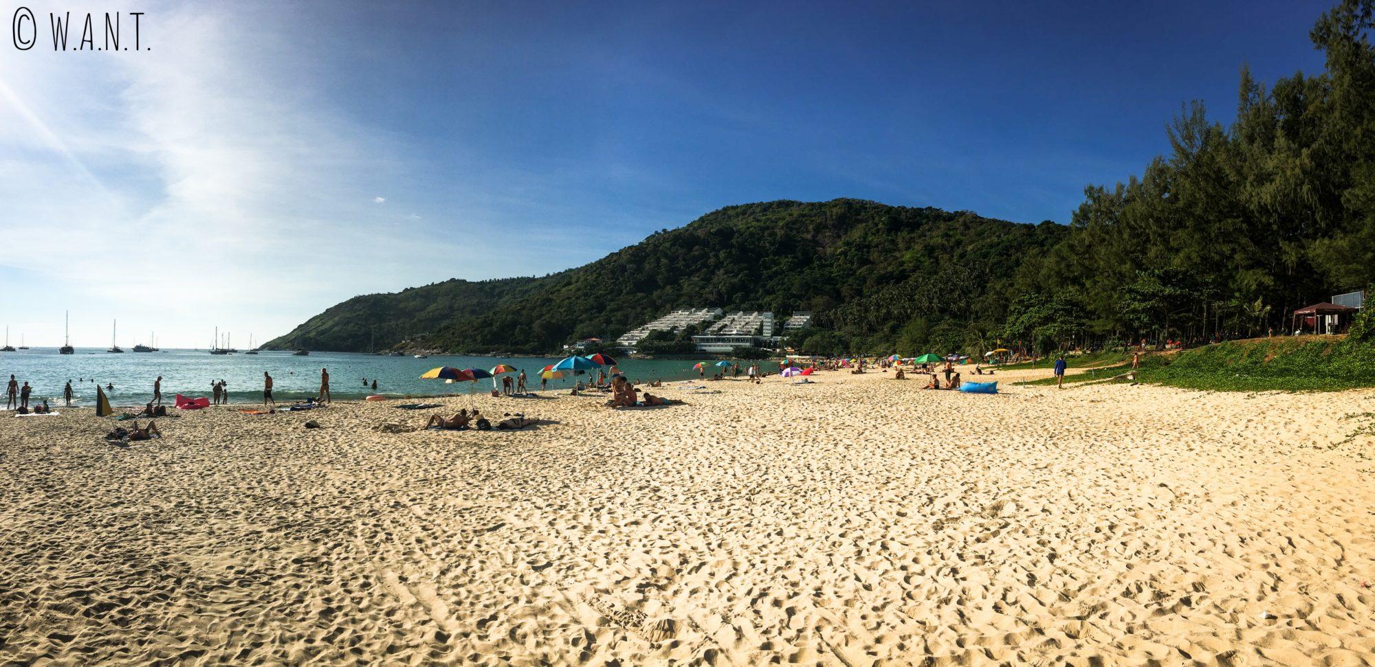 Nai Harn Beach est notre plage préférée à Phuket