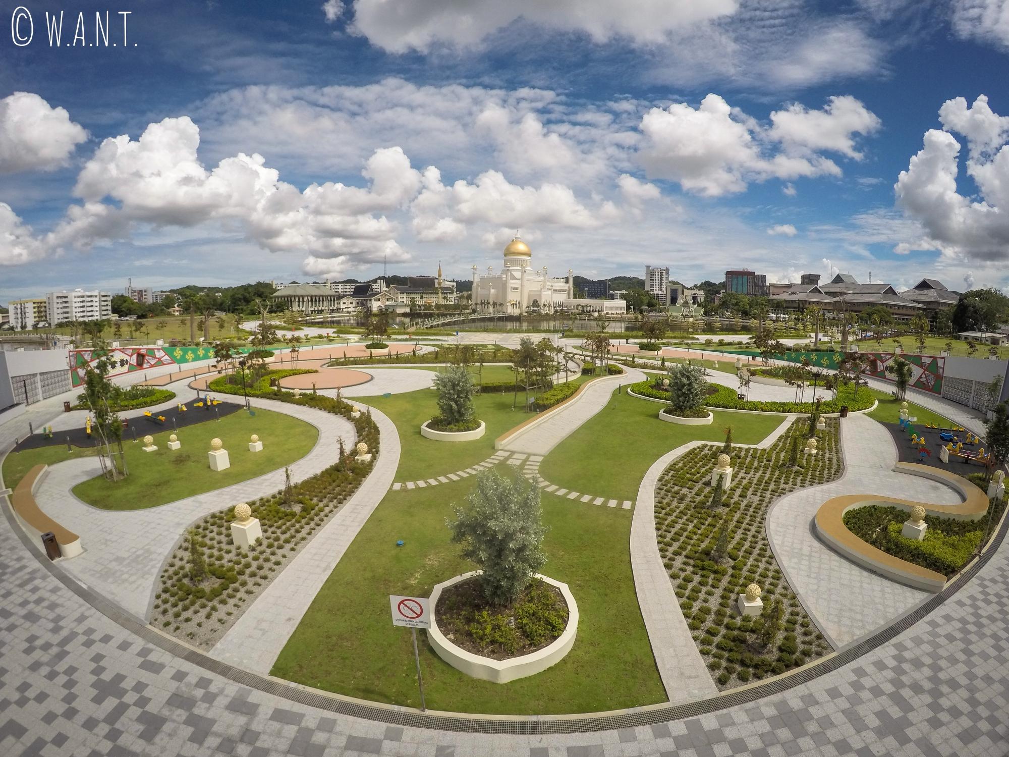 Parc Taman Mahkota Jubli Emas de Bandar Seri Begawan
