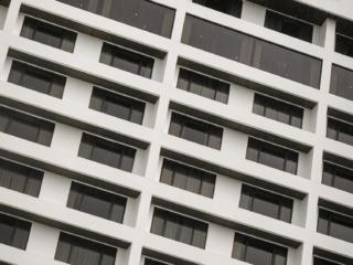 Petit clin d'oeil avec la façade de l'hôtel Hilton à Kuching