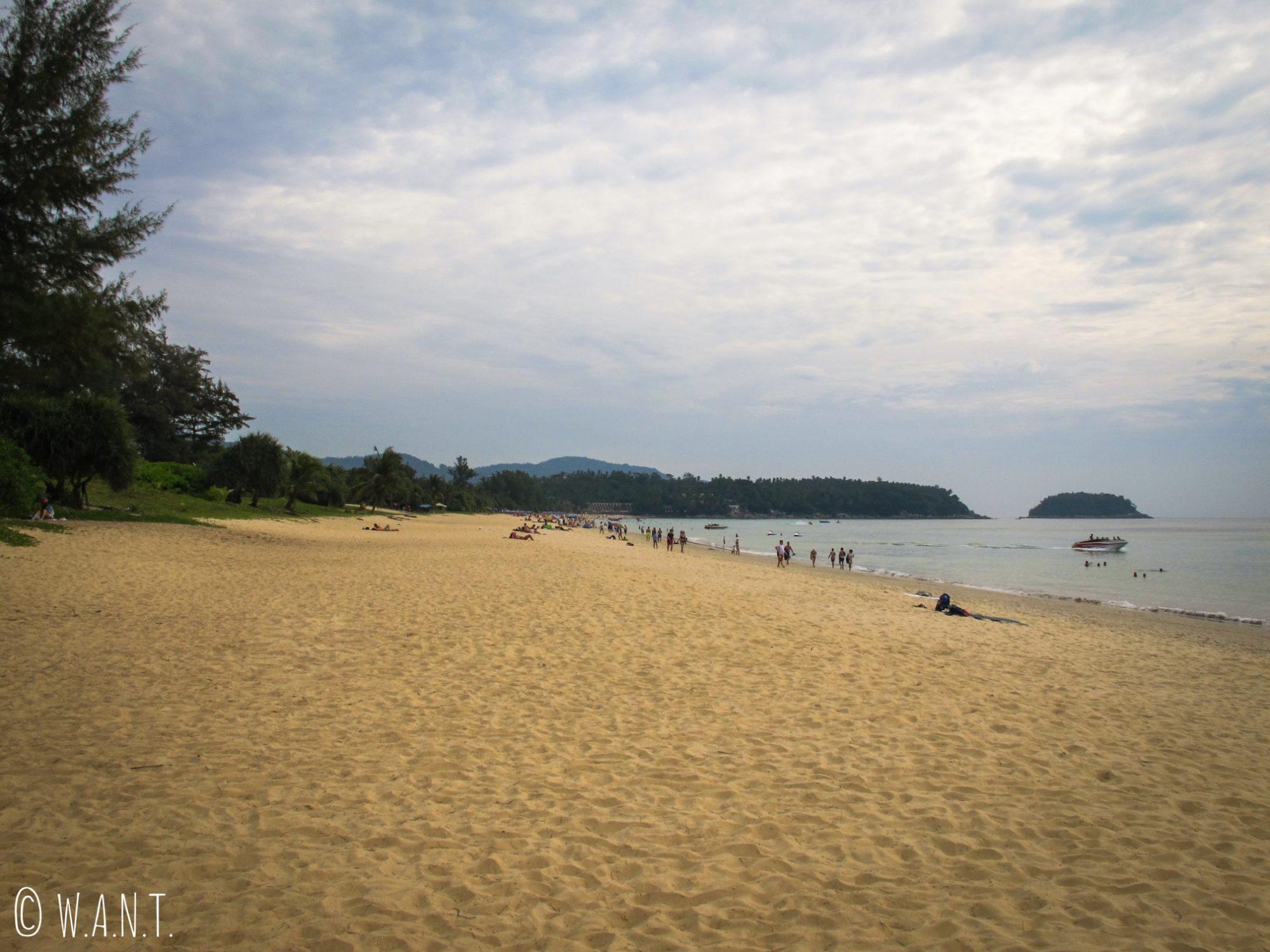 Plage de Karon à Phuket