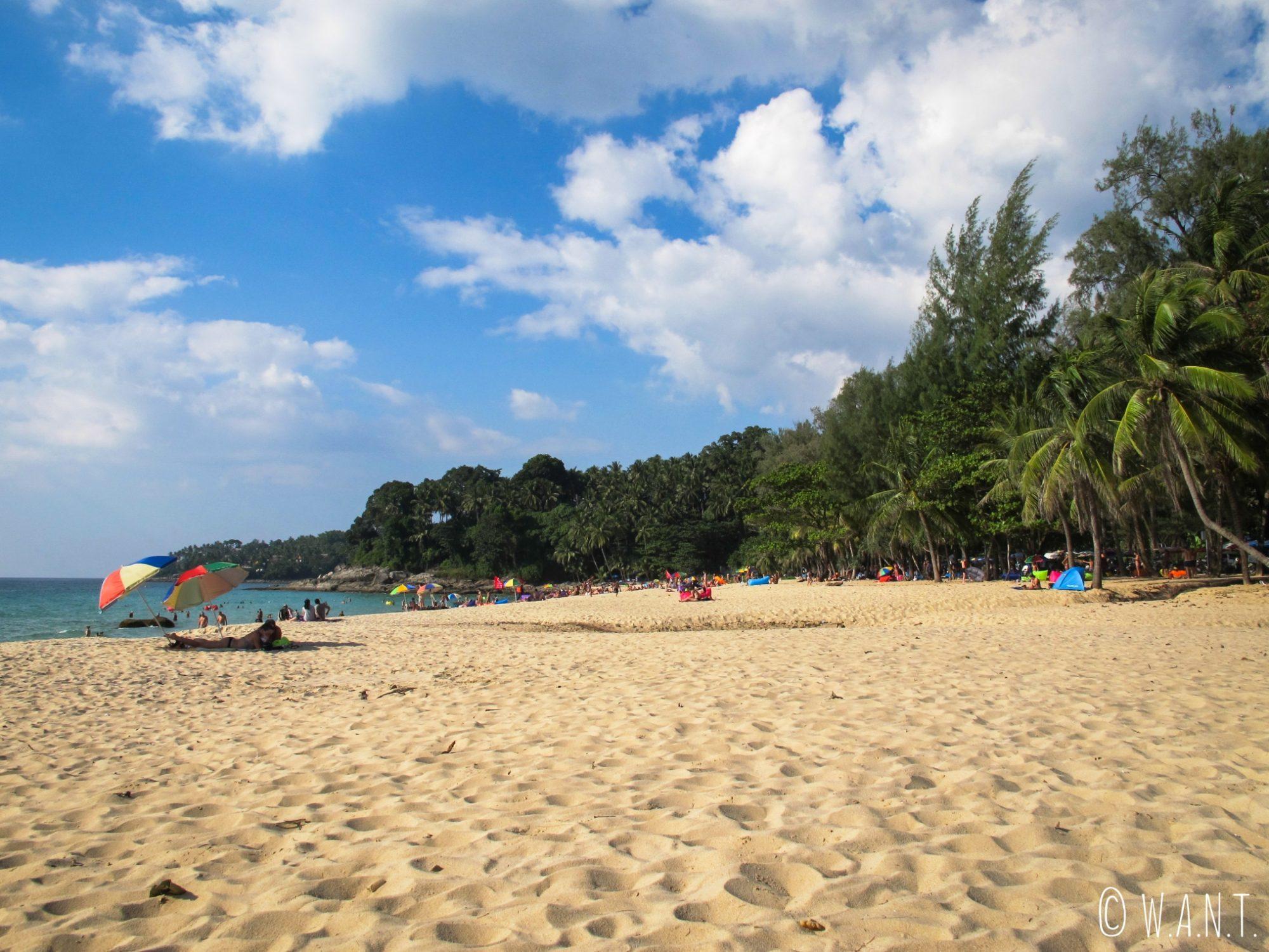 Plage de Surin à Phuket
