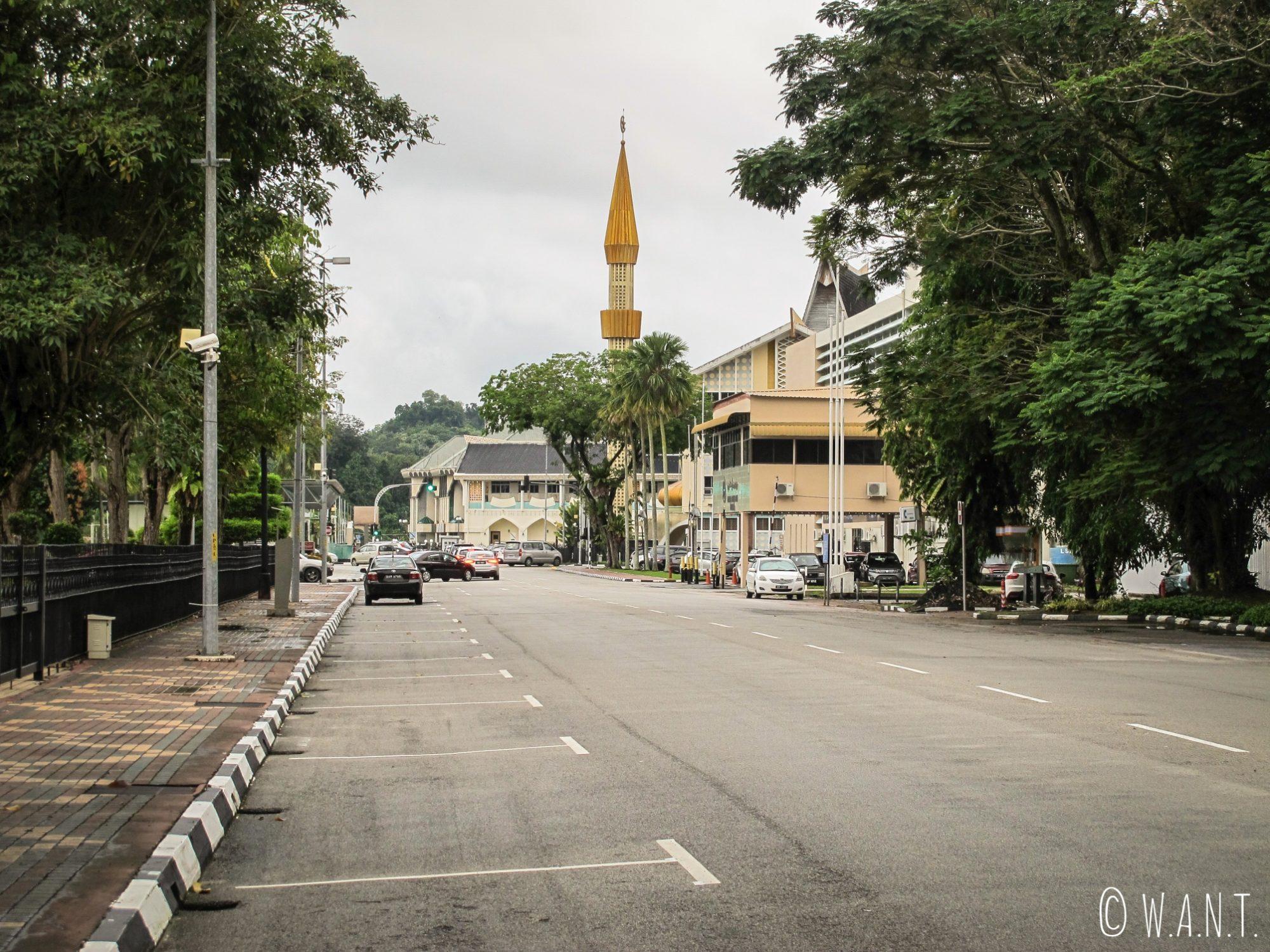 Rue de Bandar Seri Begawan au Brunei