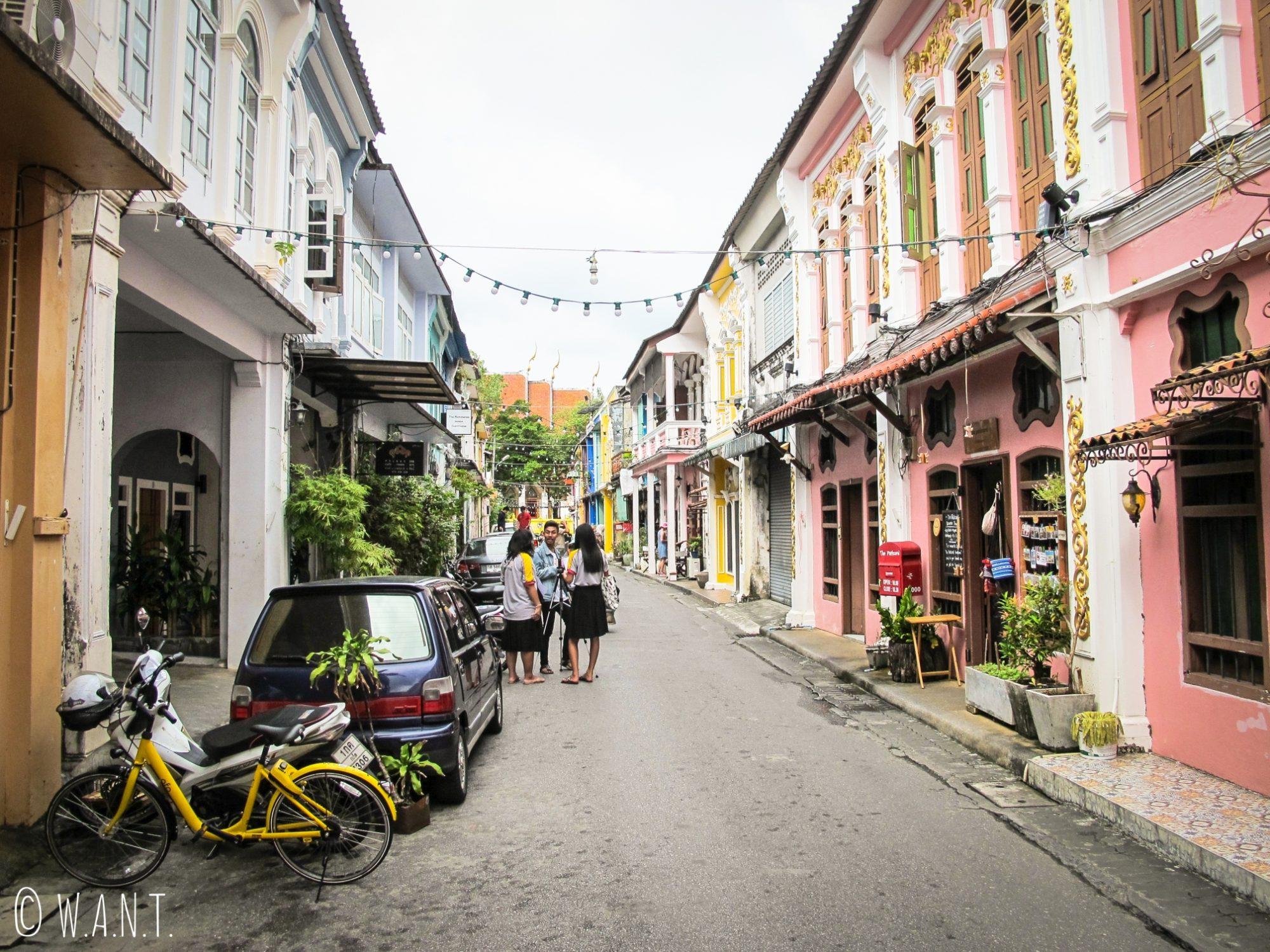 Rue du Old Phuket