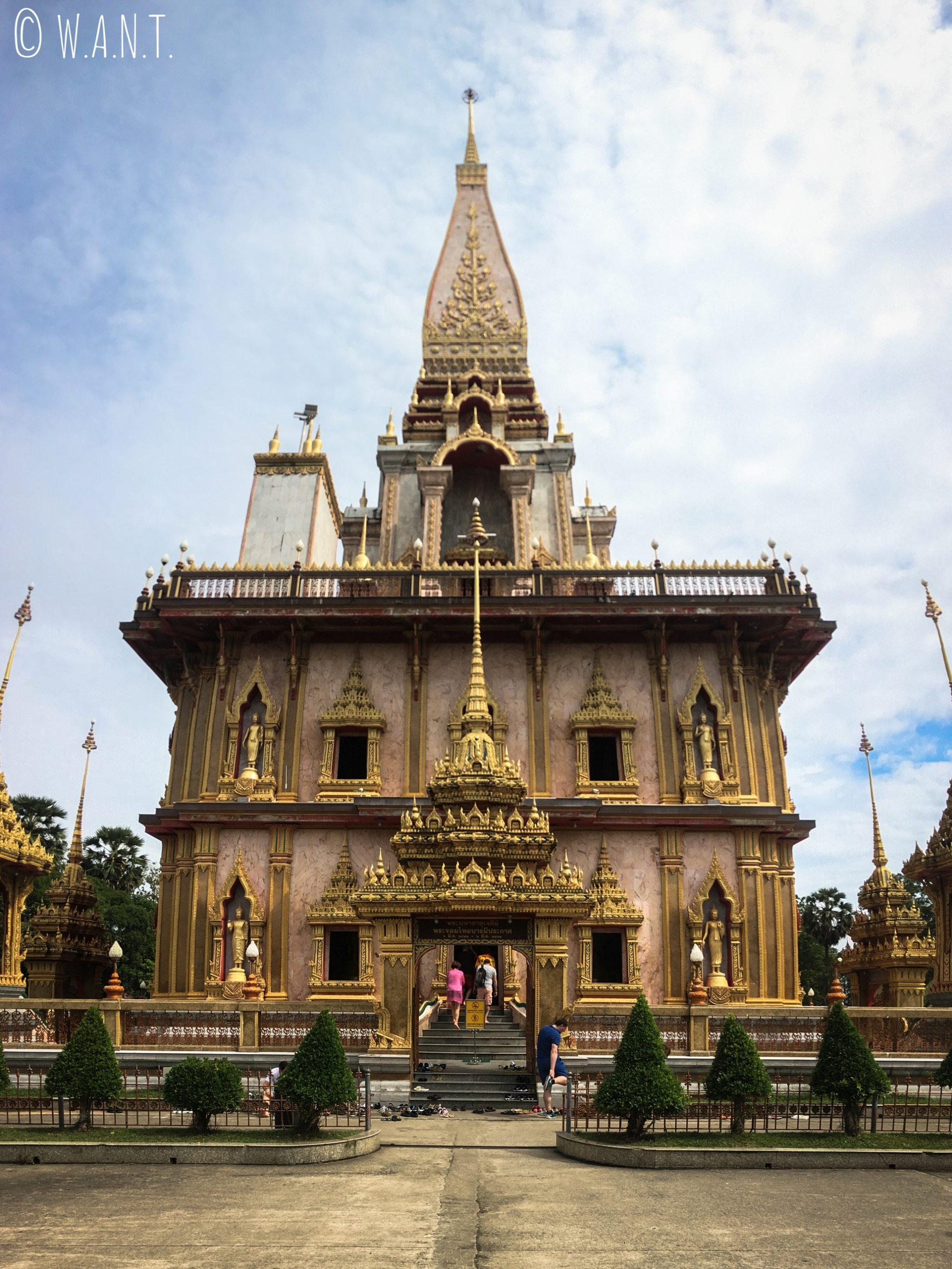 Temple de Chalong à Phuket