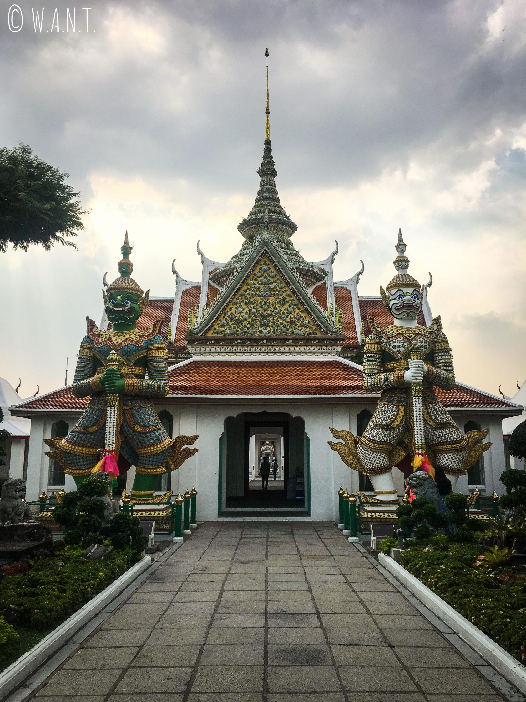 Temple situé à côté du Wat Arun de Bangkok