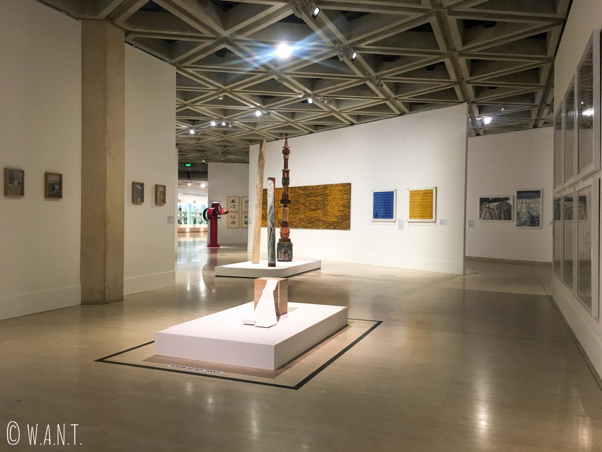 Aile contemporaine du Art Gallery Museum de Perth