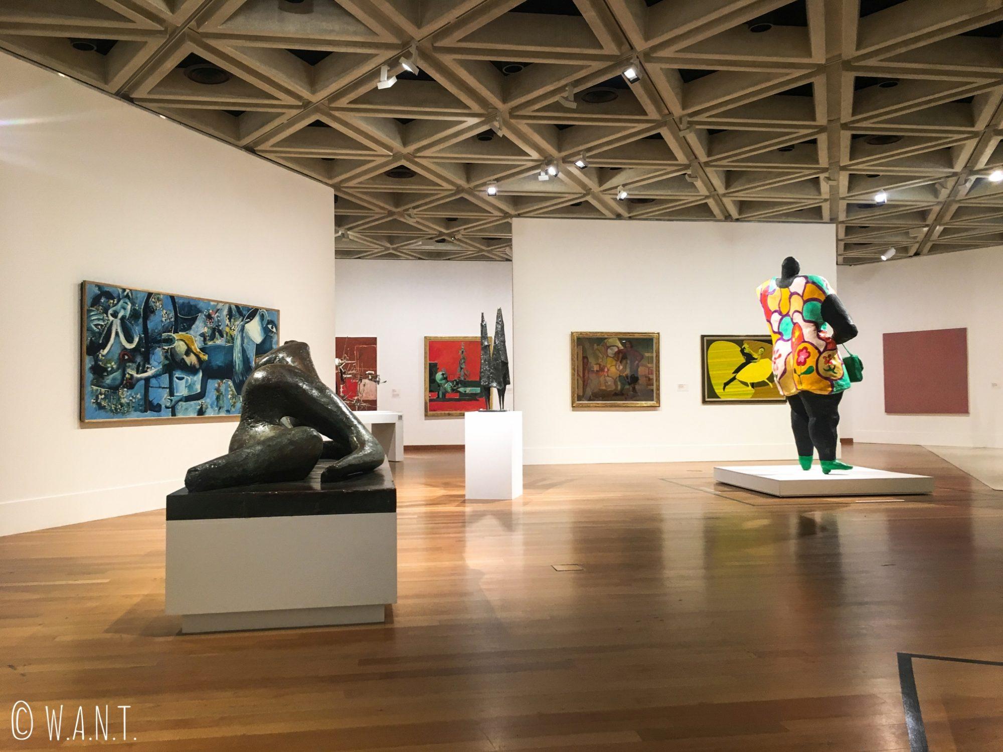 Aile moderne du Art Gallery Museum de Perth