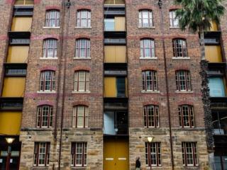 Architecture du quartier historique de The Rocks à Sydney