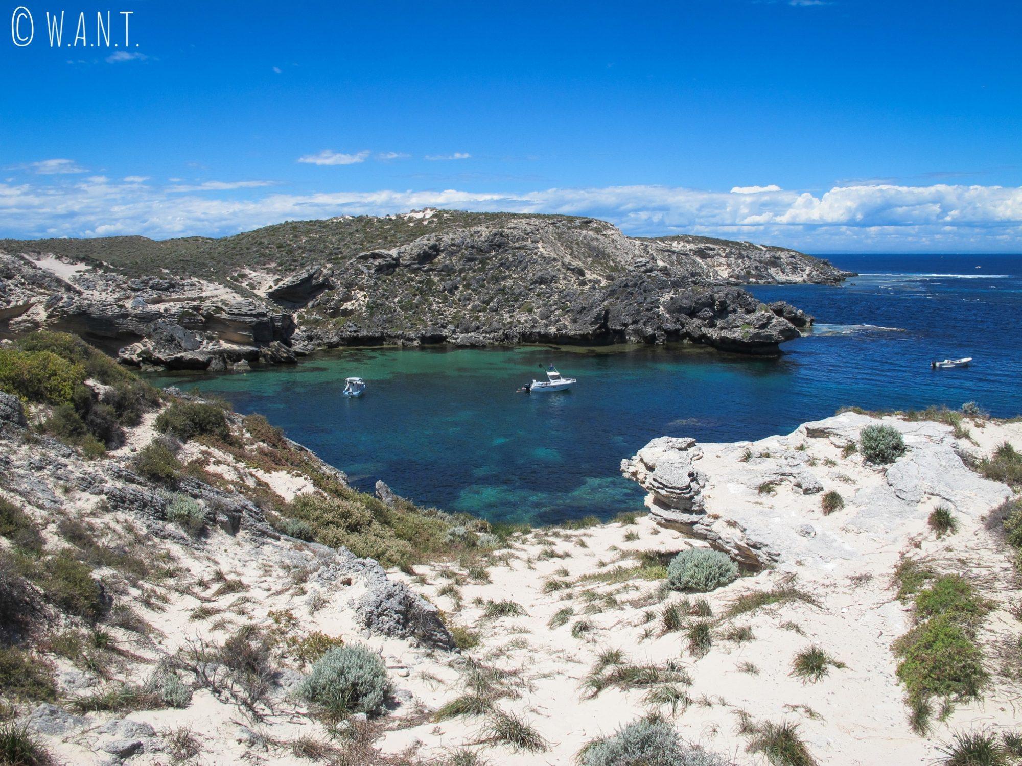 Crique au Cape Vlamingh de Rottnest Island