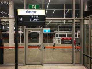 Départ de Perth pour Sydney