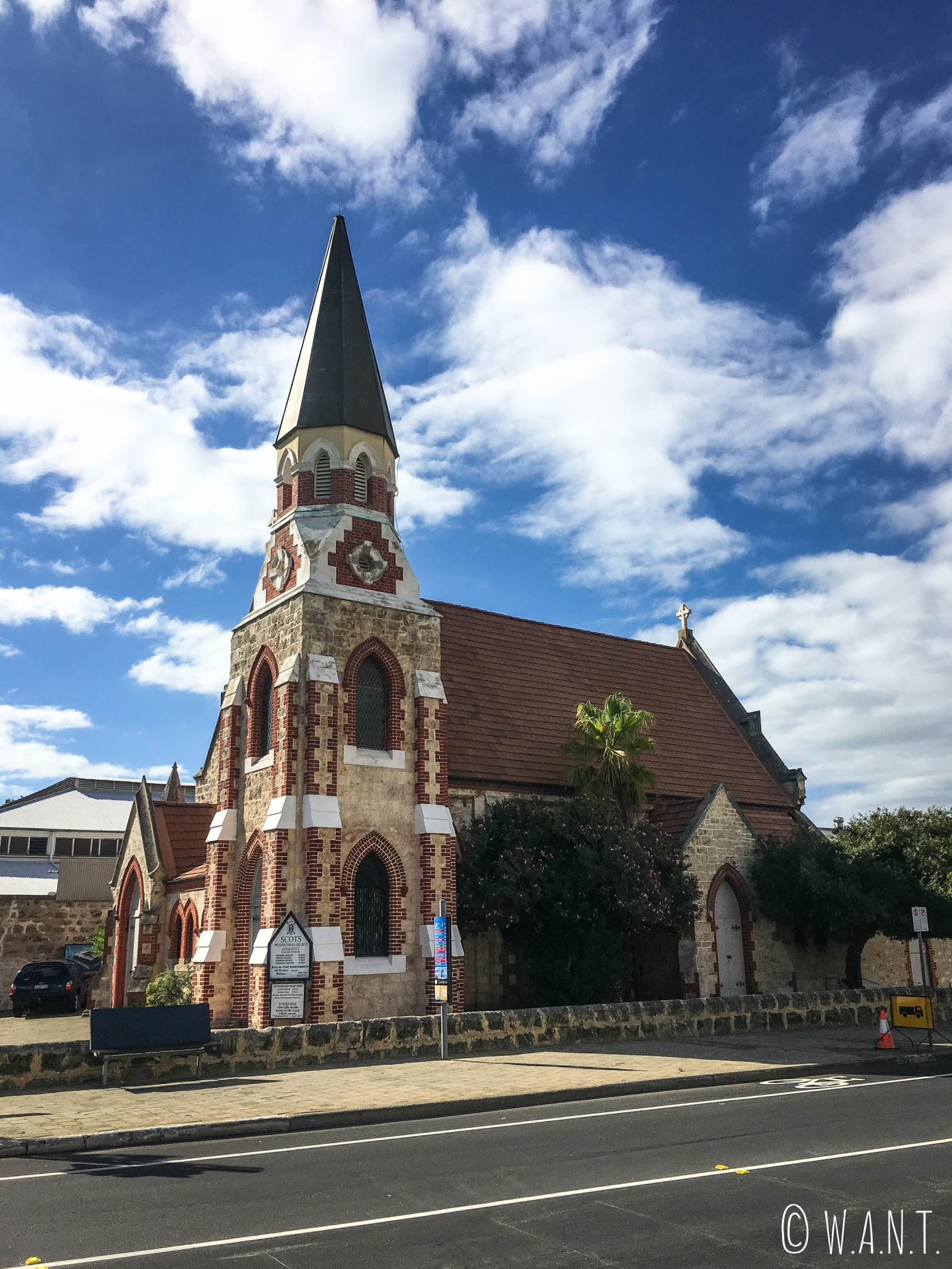 Eglise située dans le centre ville de Fremantle