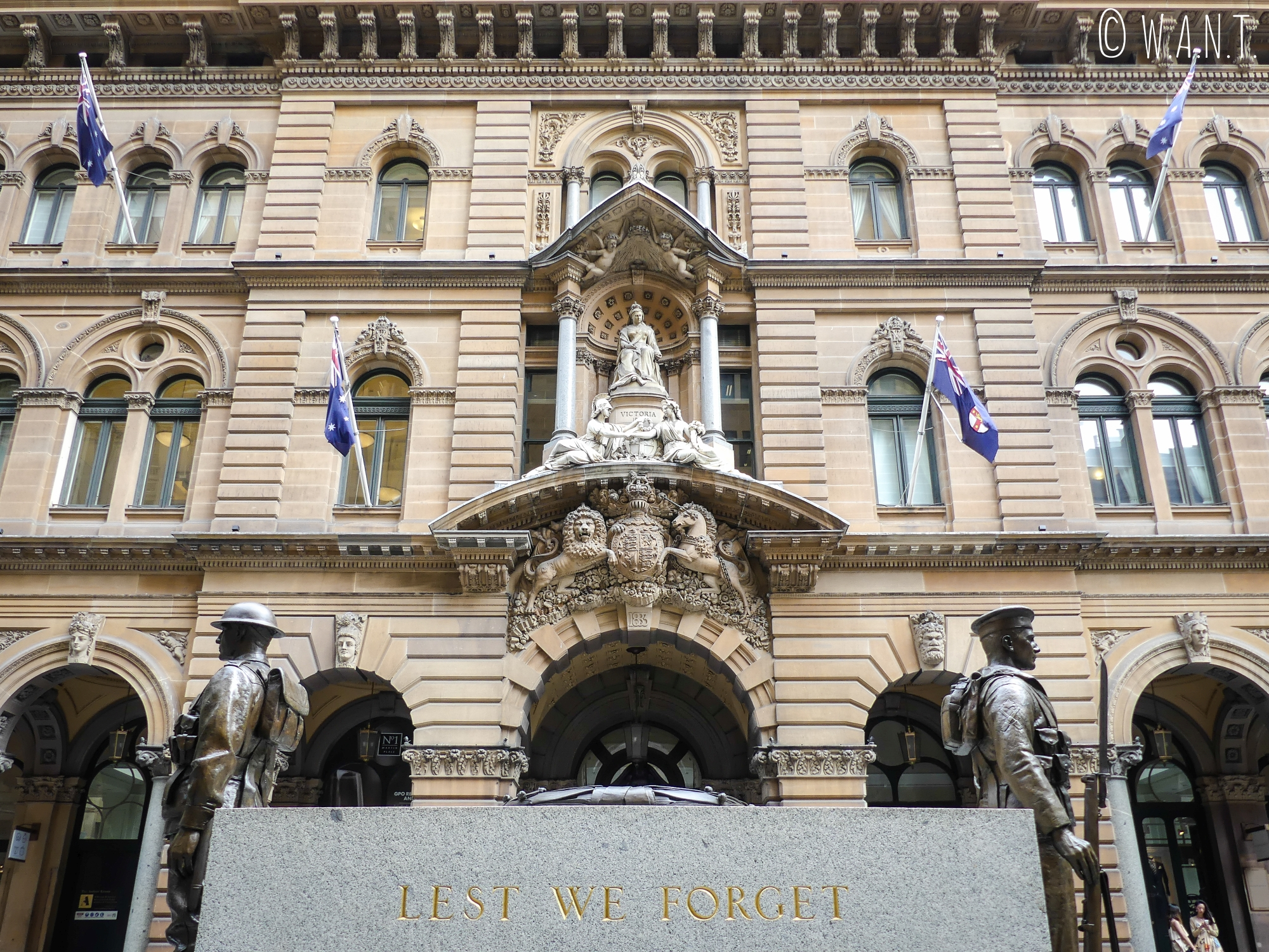 Façade de l'hôtel Westin de Sydney